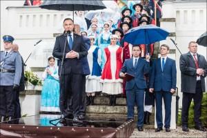 Prezydent Andrzej Duda w Szamotu³ach, fot. Tomasz Koryl